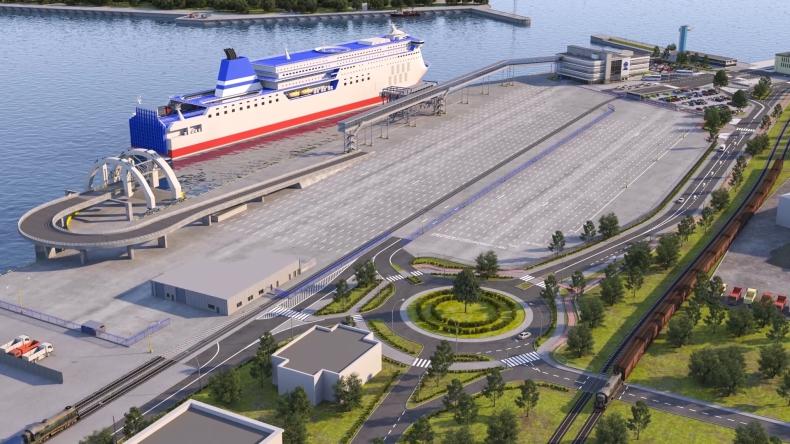 Zobacz, jak powstaje publiczny terminal promowy w Porcie Gdynia (wideo) - GospodarkaMorska.pl