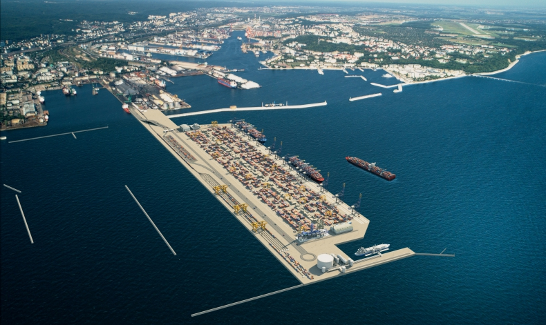Kolejny ważny krok w budowie Portu Zewnętrznego w Gdyni - GospodarkaMorska.pl