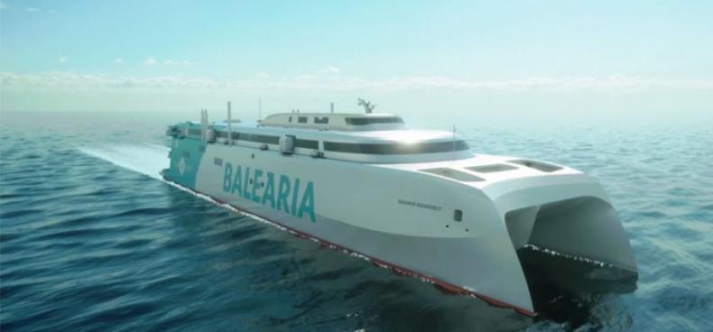Rozpoczęła się budowa nowoczesnego i ekologicznego promu dla firmy Balearia - GospodarkaMorska.pl