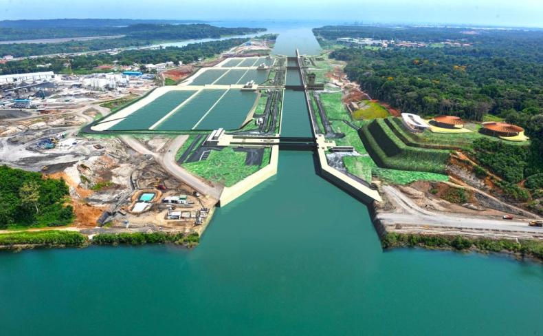 Zobacz jak działa Kanał Panamski [wideo] - GospodarkaMorska.pl