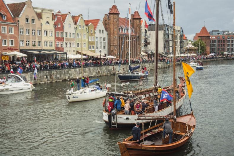 Baltic Sail Gdańsk 2019. Efektowna niedzielna parada 120 żaglowców na Motławie - GospodarkaMorska.pl