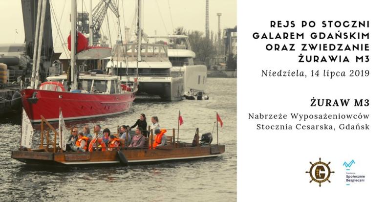 Rejs po stoczni oraz zwiedzanie żurawia M3 - GospodarkaMorska.pl