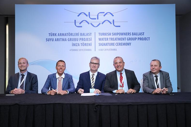 Grupa BWT Armatorów Tureckich wybrała systemy Alfa Laval PureBallast 3 na swoje statki - GospodarkaMorska.pl