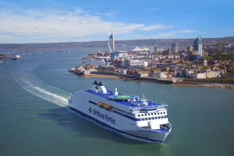 Znamy nazwę trzeciego supernowoczesnego promu powstającego dla Brittany Ferries w Chinach - GospodarkaMorska.pl