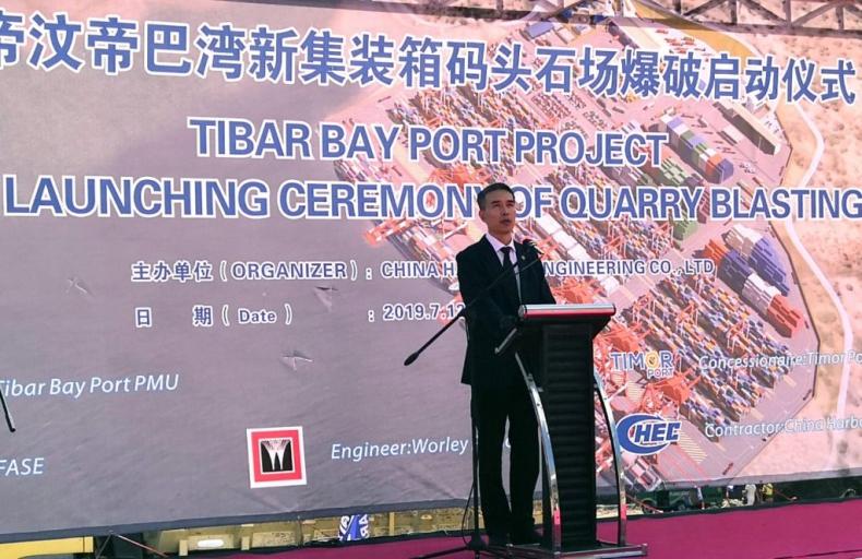 Budowa portu Tibar Bay w Timurze Wschodnim wchodzi w nowy etap - GospodarkaMorska.pl