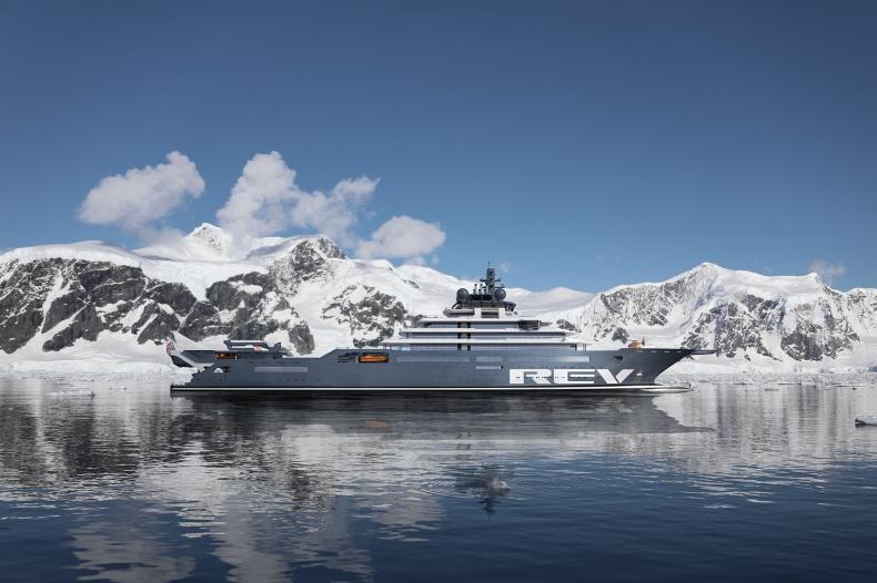 Polka projektuje wnętrze największego jachtu świata - GospodarkaMorska.pl
