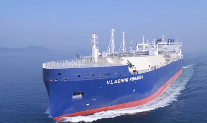 Vladimir Rusanov przetransportował LNG do Chin przez Północny Szlak Morski - GospodarkaMorska.pl