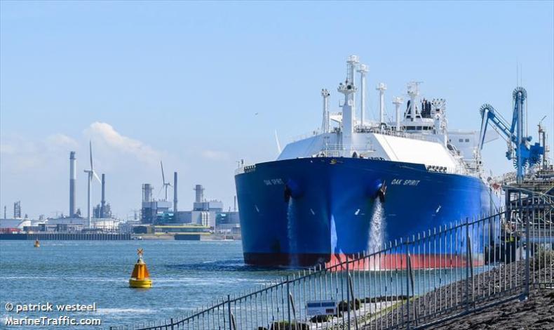 Prezydent: dostawa LNG z USA w ramach umowy z Cheniere to ważny krok do bezpieczeństwa energetycznego - GospodarkaMorska.pl