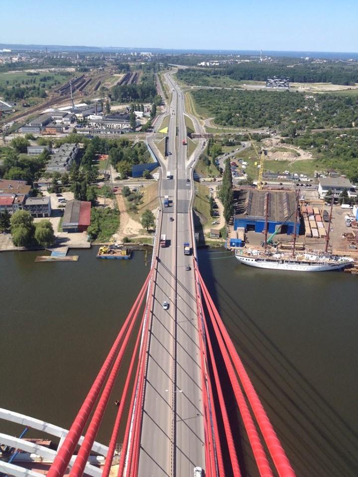 Zakończyła się przebudowa dylatacji na Moście Wantowym w Gdańsku - GospodarkaMorska.pl