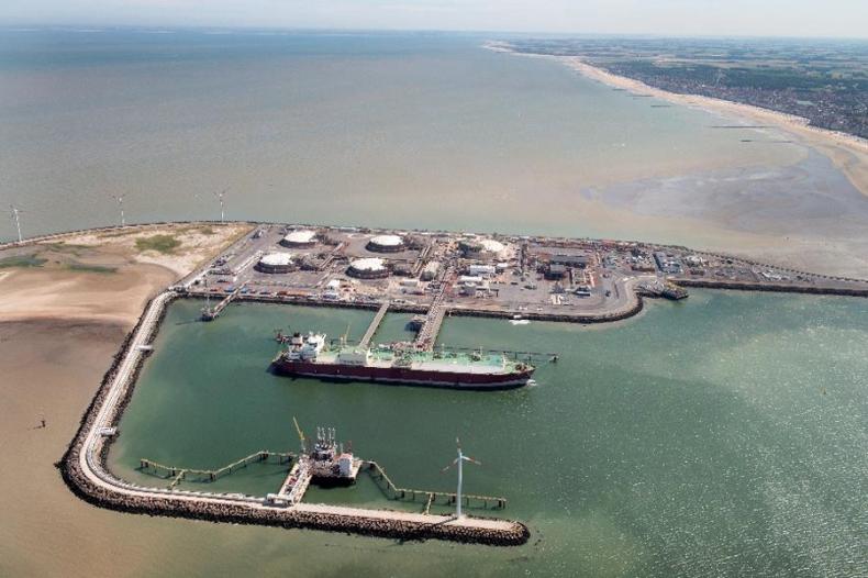 Pierwszy gazowiec LNG typu Q-Max zawinął do belgijskiego terminalu LNG - GospodarkaMorska.pl