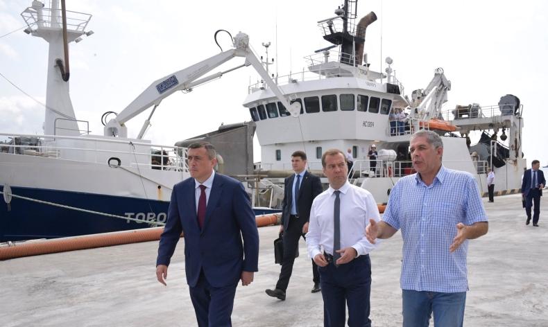 Premier Rosji złożył wizytę na Kurylach; Japonia protestuje - GospodarkaMorska.pl