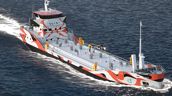 Japońskie firmy będą pracować nad projektami związanymi z pełni elektrycznymi statkami - GospodarkaMorska.pl