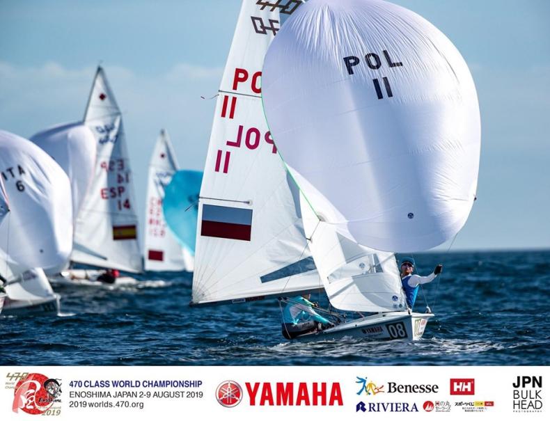 Tokio: Dwie polskie załogi na prowadzeniu po drugim dniu regat przedolimpijskich - GospodarkaMorska.pl
