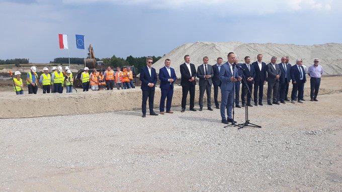 Ruszyła budowa trasy Via Carpatia między Kraśnikiem a Janowem Lubelskim - GospodarkaMorska.pl