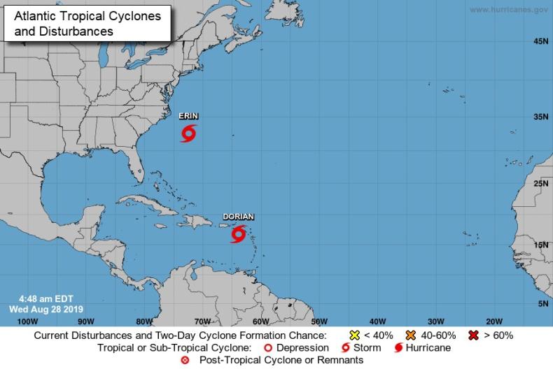 W stronę Portoryko nadciąga burza tropikalna Dorian - GospodarkaMorska.pl