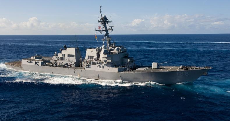 Okręt USA przepłynął przez sporny obszar Morza Południowochińskiego - GospodarkaMorska.pl