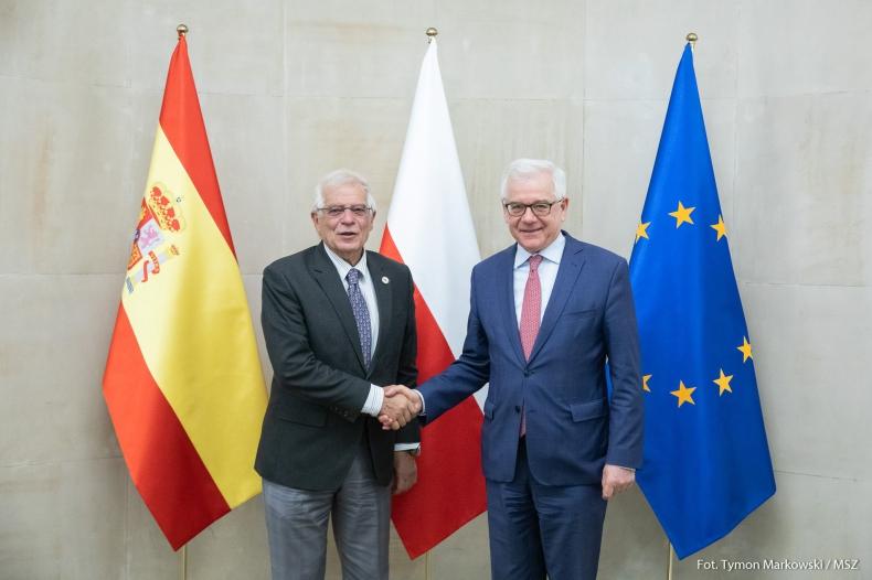 Szefowie MSZ Polski i Hiszpanii o współpracy dwustronnej i przyszłości UE - GospodarkaMorska.pl