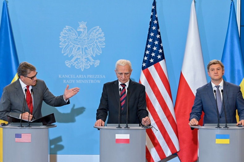 Perry: Potrzebna jest rozbudowa infrastruktury gazowej między Polską a Ukrainą - GospodarkaMorska.pl