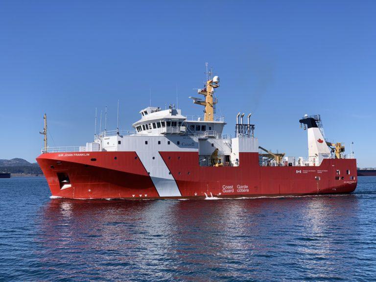 Pierwszy duży statek zbudowany w ramach kanadyjskiej strategii stoczniowej wszedł do służby - GospodarkaMorska.pl