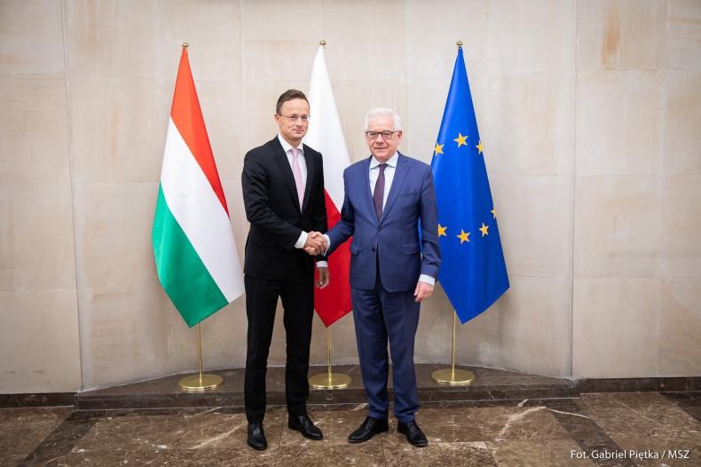 Szefowie MSZ Polski i Węgier m.in. o współpracy dwustronnej, polityce bezpieczeństwa i UE - GospodarkaMorska.pl