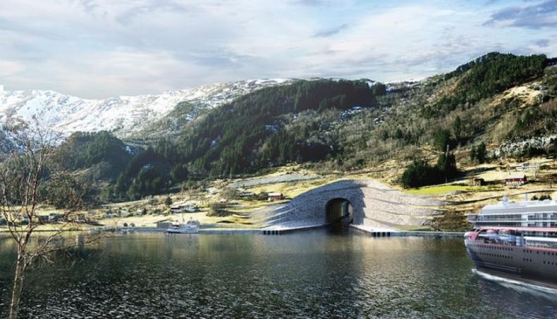 Jak będzie wyglądała żegluga przez pierwszy na świecie tunel dla statków? - GospodarkaMorska.pl