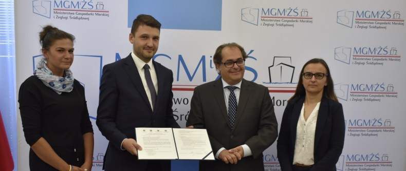 Porozumienie o wzajemnej współpracy w ramach krajowej Sieci Partnerstwo: Środowisko dla Rozwoju podpisane - GospodarkaMorska.pl