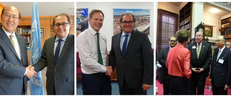 Minister Gróbarczyk spotkał się w Londynie z szefem IMO oraz brytyjskim ministrem transportu - GospodarkaMorska.pl