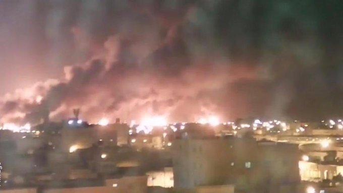 Atak dronów wywołał dwa pożary w rafinerii koncernu Aramco (wideo) - GospodarkaMorska.pl