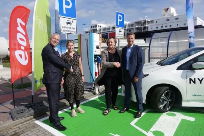 Scandlines wprowadza ułatwienia dla kierowców pojazdów elektrycznych - GospodarkaMorska.pl