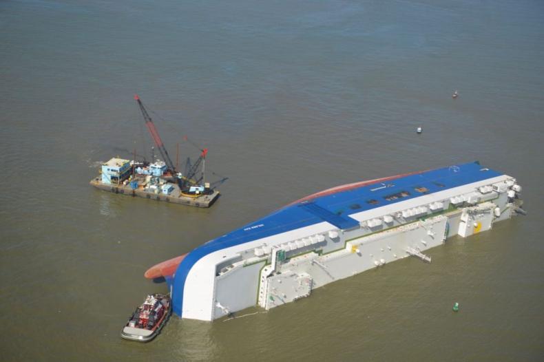 Operacja wydobycia jednostki Golden Ray zostaje wznowiona po burzy - GospodarkaMorska.pl