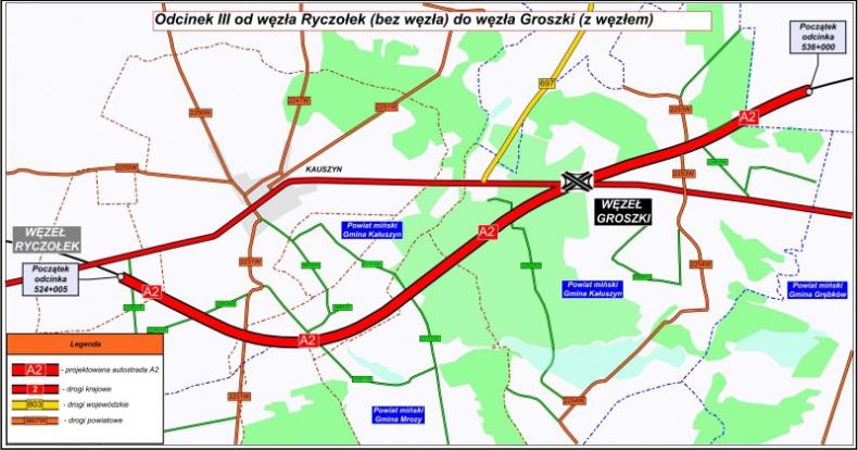 GDDKiA rusza z przetargami na odcinek autostrady A2 Mińsk Mazowiecki-Siedlce - GospodarkaMorska.pl