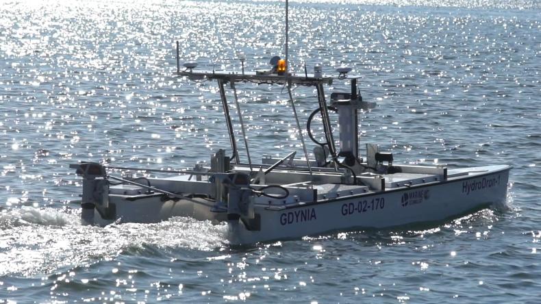 Zobacz testy nowoczesnego HydroDrona do pomiarów hydrograficznych (foto, wideo) - GospodarkaMorska.pl