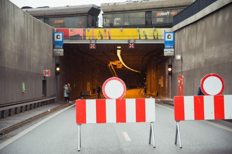 W nocy z soboty na niedzielę zamknięty tunel pod Martwą Wisłą w Gdańsku - GospodarkaMorska.pl