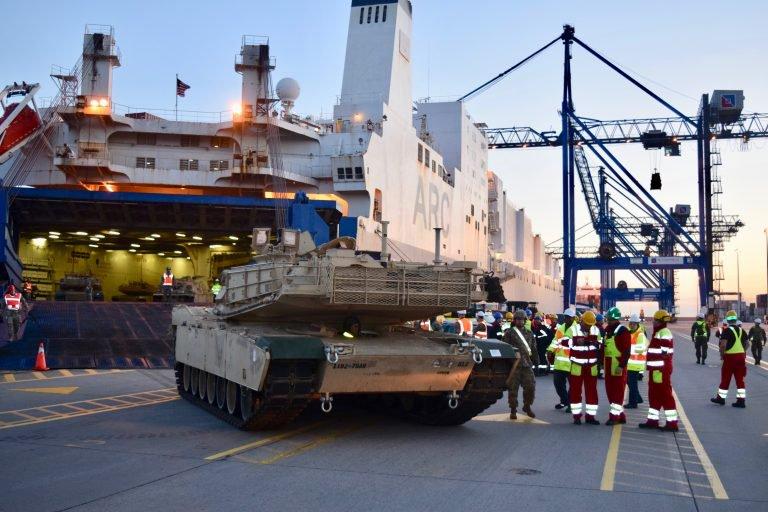 Amerykanie będą ćwiczyć w 2020 r. przerzut wojsk przez Atlantyk do Polski - GospodarkaMorska.pl