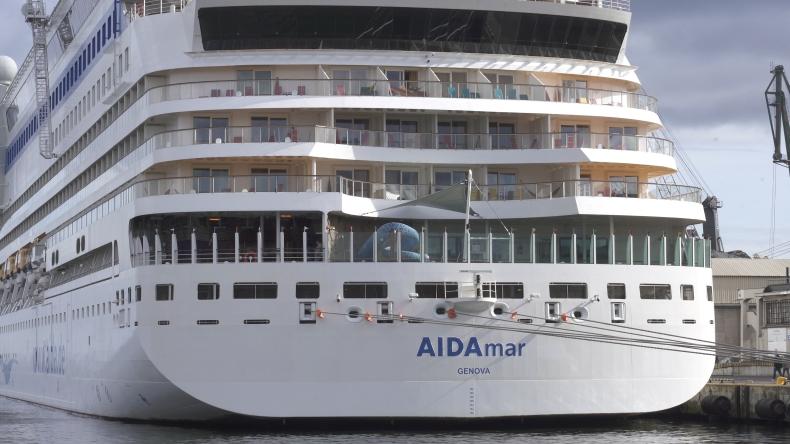 AIDAmar zakończyła sezon wycieczkowców w Porcie Gdynia. W tym roku przypłynęło 118 tys. pasażerów (foto, wideo) - GospodarkaMorska.pl