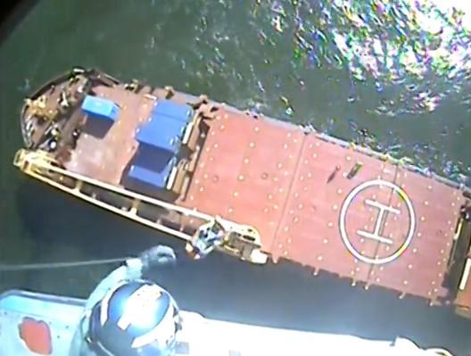Nieprzytomny członek załogi ewakuowany ze statku towarowego w pobliżu Teksasu - GospodarkaMorska.pl