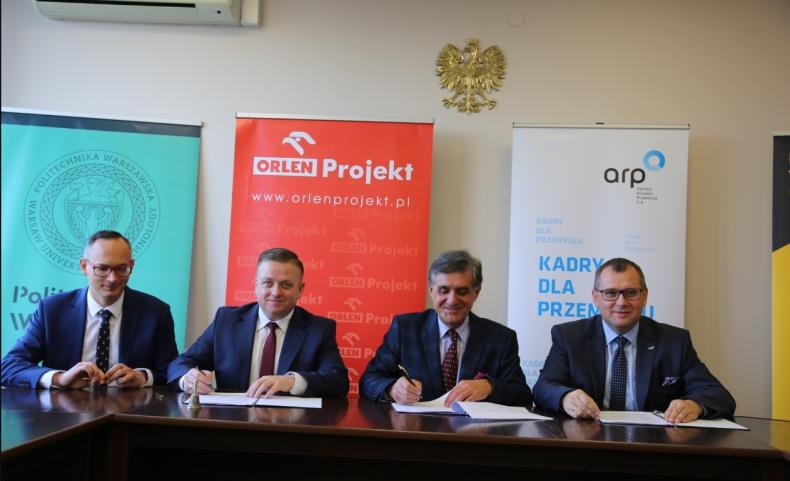 ORLEN Projekt i ARP wspólnie z Politechniką Warszawską inaugurują program stażowy - GospodarkaMorska.pl
