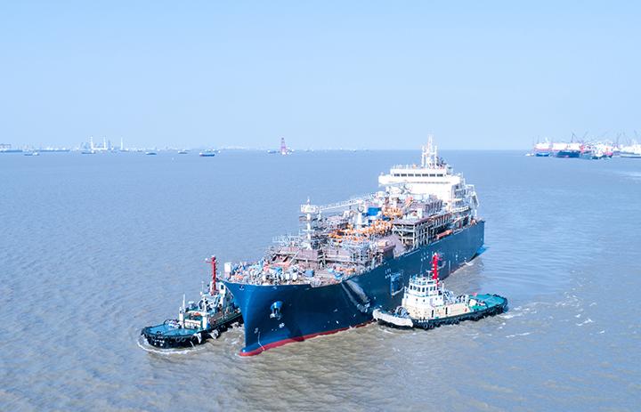 Zwodowano pierwszą bunkierkę LNG zdolną do obsługi największych kontenerowców na świecie - GospodarkaMorska.pl