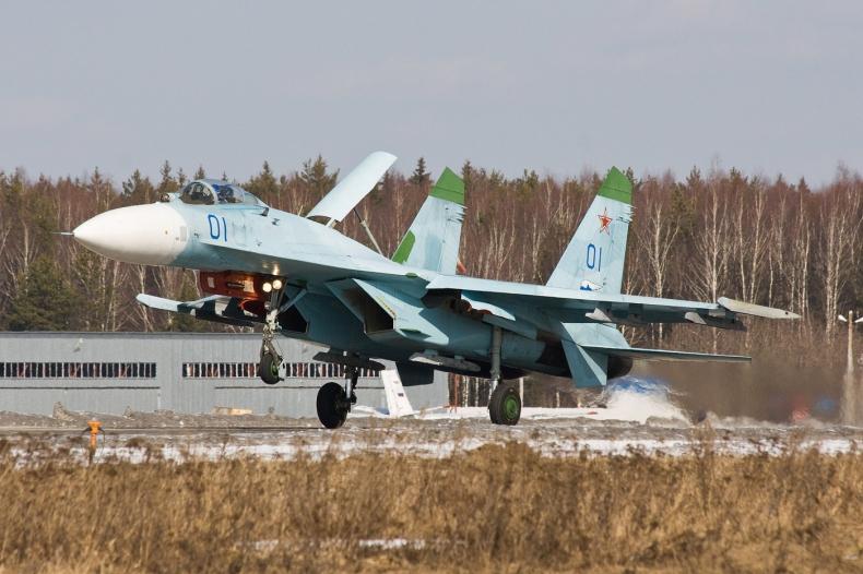 Rosja/ Resort obrony: rosyjski Su-27 śledził amerykański B-52H nad Morzem Czarnym - GospodarkaMorska.pl