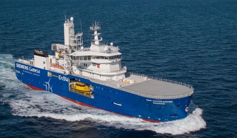 Damen dostarczył drugi innowacyjny statek do obsługi farm wiatrowych armatorowi Bibby Marine Services - GospodarkaMorska.pl