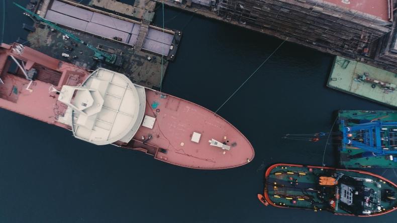 Stocznia Marine Projects przekazała klientowi prototypowy statek rybacki [foto, wideo] - GospodarkaMorska.pl