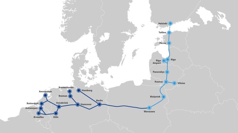 Rail Baltica: po opiniach instytucji nt. nowych wariantów, będą konsultacje z mieszkańcami - GospodarkaMorska.pl