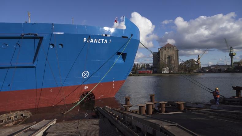 Wodowanie drugiej wielozadaniowej jednostki dla Urzędów Morskich (foto, wideo) - GospodarkaMorska.pl