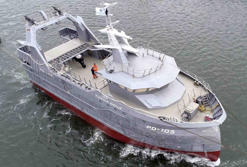 Stocznia Safe przekazała Holendrom kolejny trawler rybacki [foto, wideo] - GospodarkaMorska.pl