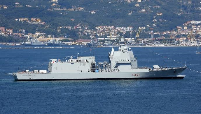 Rozpoczęto próby morskie jednostki OPV dla włoskiej marynarki wojennej - GospodarkaMorska.pl