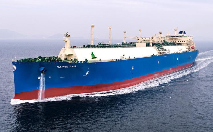 DSME dostarczyła pierwszy gazowiec LNG z nowym systemem smarowania powietrzem - GospodarkaMorska.pl