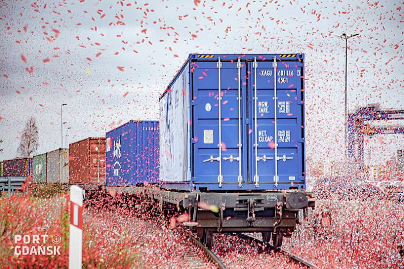 Inauguracja bezpośredniego połączenia kolejowego z Chin do Portu Gdańsk [wideo] - GospodarkaMorska.pl