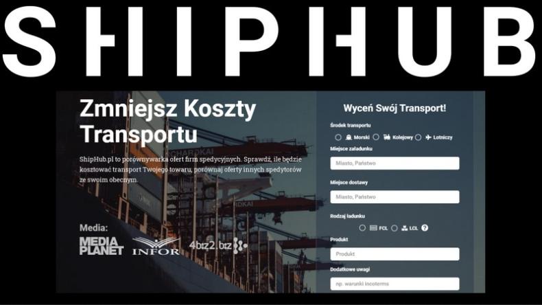 ShipHub – darmowa platforma dla branży transportowej. - GospodarkaMorska.pl
