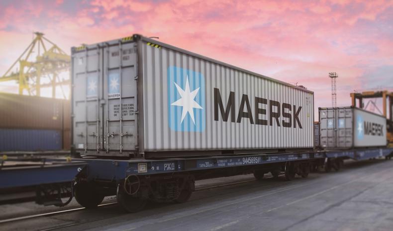 Pierwszy międzykontynentalny pociąg Maerska z Europy do Azji - GospodarkaMorska.pl