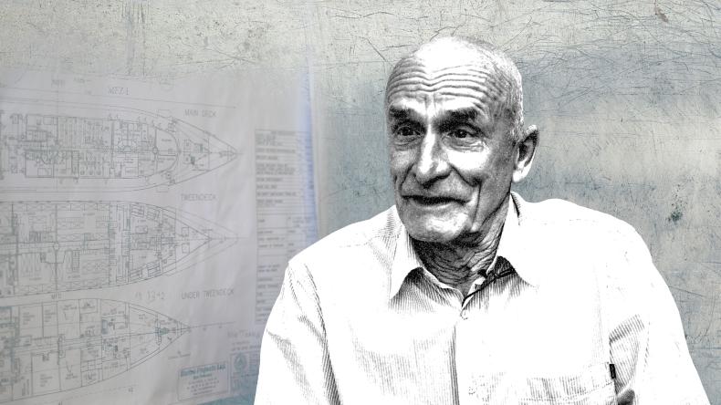 """Jego nazwisko jest znane w każdej stoczni na świecie. """"Ojciec żaglowców"""" z nowym projektem (wywiad wideo) - GospodarkaMorska.pl"""